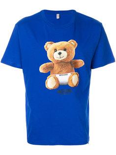 футболка с принтом Underbear Moschino