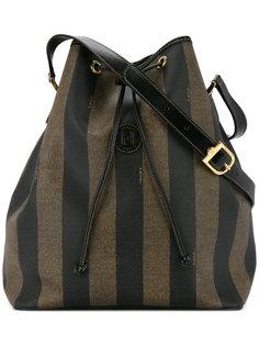 Pequin drawstring shoulder bag Fendi Vintage