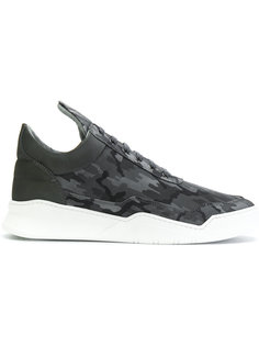 camouflage lace-up sneakers Filling Pieces