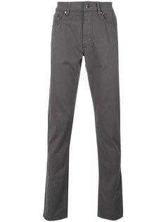 брюки прямого кроя Hackett