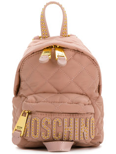 стеганый рюкзак Moschino