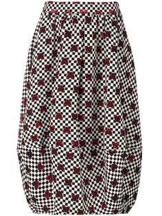 клетчатая юбка в сердечки Ultràchic