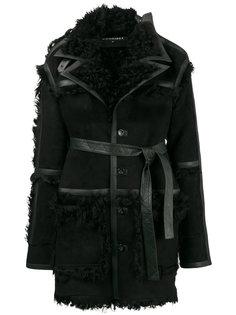Shearling Trim Coat Y / Project