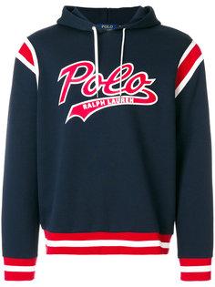 худи с принтом с логотипом Polo Ralph Lauren