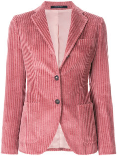 вельветовый приталенный пиджак Tagliatore