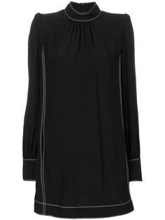 платье шифт с воротником-стойкой  Marc Jacobs