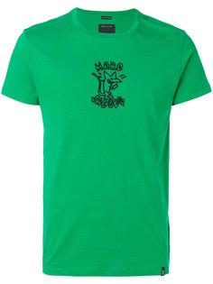 футболка с вышивкой stinky rat  Marc Jacobs