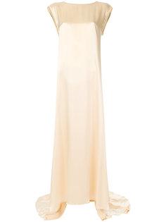 платье со складками Ann Demeulemeester