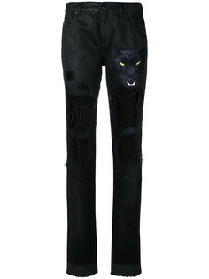 состаренные брюки  Marcelo Burlon County Of Milan