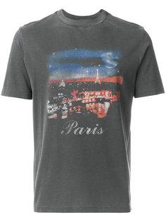 футболка с принтом Парижа Balenciaga