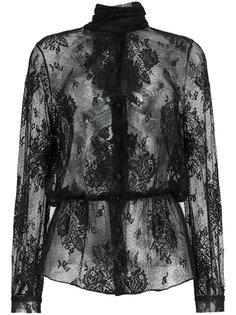 кружевная блузка Lavalliere Balenciaga