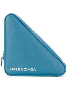 треугольный клатч Balenciaga