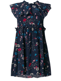 платье Babydoll Plastron Balenciaga
