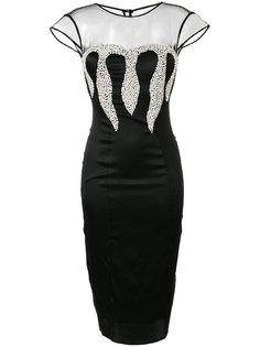 облегающее платье Veronika Flame Philipp Plein