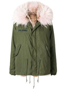 пальто Army с меховой оторочкой As65