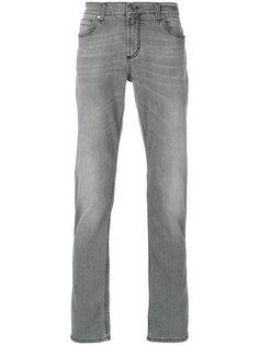 джинсы прямого кроя Dirk Bikkembergs