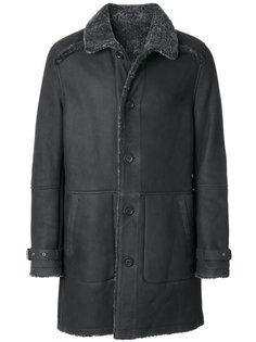 пальто с панельным дизайном Yves Salomon
