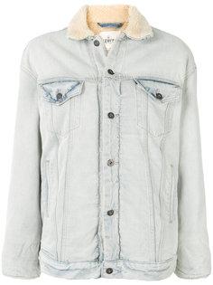 джинсовая куртка с подкладкой из овечьей шерсти Levis: Made & Crafted