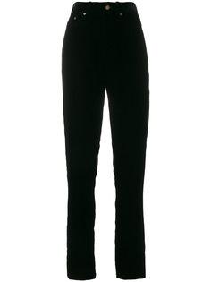 брюки с завышенной талией  Saint Laurent
