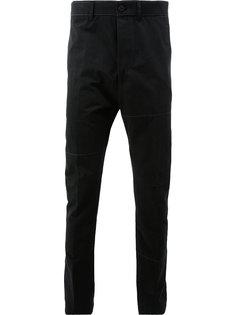брюки с панельным дизайном Lanvin
