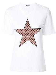 футболка со звездой из пайеток  Markus Lupfer