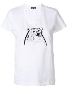 футболка с полярным медведем  Markus Lupfer