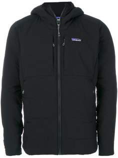 zipped pockets hooded jacket Patagonia