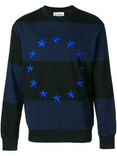 толстовка с вышивкой звезд Études