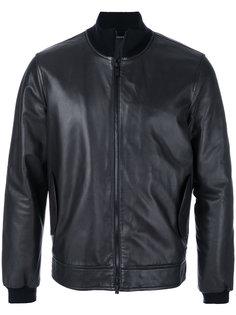 куртка с окантовкой в рубчик Z Zegna