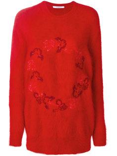 свитер с цветами Givenchy