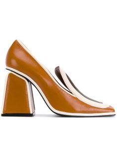 туфли в стиле колор блок Marni