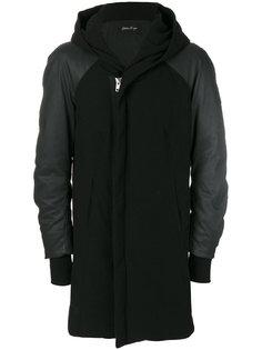 стеганое пальто с капюшоном Andrea Yaaqov