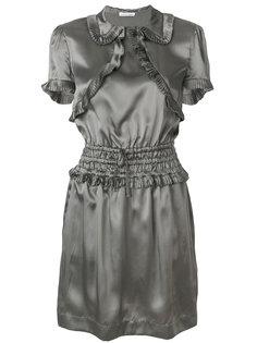 платье с оборкой  Tomas Maier