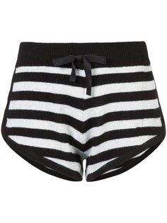 Steffy striped shorts Morgan Lane