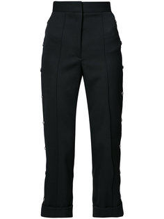 high-rise cropped tailored trousers Vera Wang