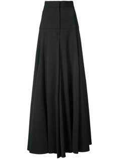 high waisted wide-legged trousers Vera Wang