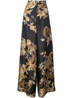 широкие брюки с принтом Ormalu Vera Wang