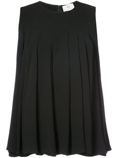 pleated blouse Co