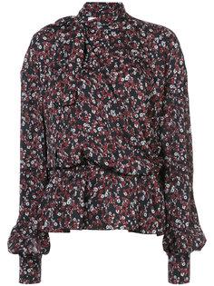 блузка в цветочный принт Magda Butrym
