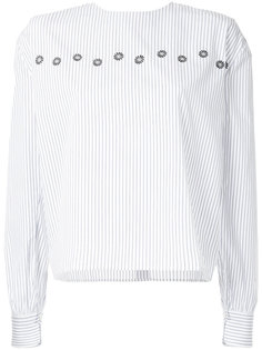 pinstriped blouse Jupe By Jackie