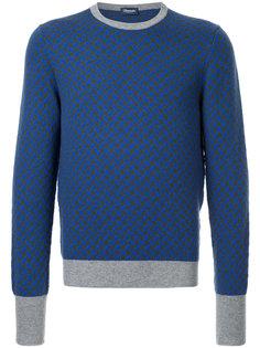 свитер дизайна колор-блок Drumohr