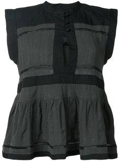 расклешенная блузка Isabel Marant Étoile