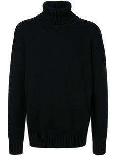 свитер с отворотной горловиной Laneus