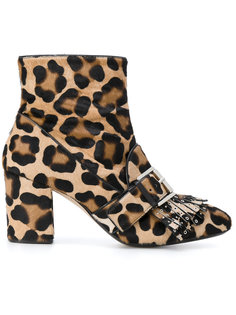 ботинки с анималистическим принтом Nº21