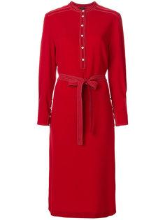 платье-рубашка с поясом  Joseph