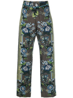 floral cropped trousers F.R.S For Restless Sleepers