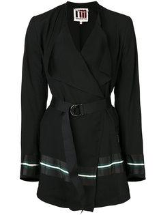 пиджак с поясом и лацканами  IM Isola Marras