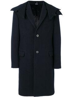 пальто со съемным капюшоном Lanvin