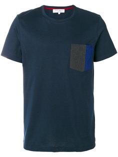 футболка с контрастным карманом Salvatore Ferragamo