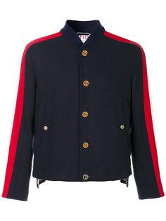 куртка с контрастными полосками Thom Browne